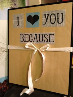 Anniversary Gifts for Him and Her I Love You by todayisasunnyday, $40.00 Wedding gift valentines day gift