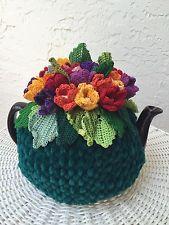 NEW Handmade Tea Cozy Tulips Fields Of Holland 3-6 cups From Ukrainian Designer