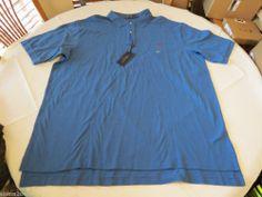 The Mesh shirt Ralph Lauren Polo men's NEW logo 4384791 3XLT Tall Pale Indigo
