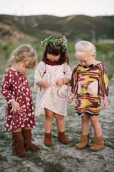 Children of the Wild: Flower Girls Page Boys
