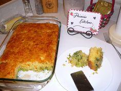 Yum... Id Pinch That! | Broccoli Chedder Cornbread