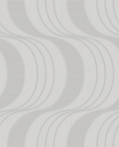 Keiko (75503) - Albany Wallpapers - Keiko is an innovative wave geometric vinyl. It features a subtle dual-height wave pattern with a hint of silver glitter. Shown here in grey. More colours are available. Please request a sample for true colour match.