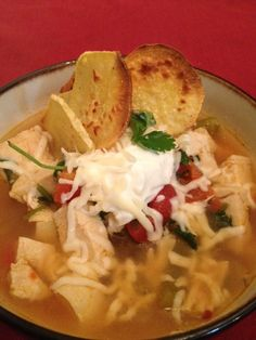 Tortilla Soup - this taste just like a restaurant.