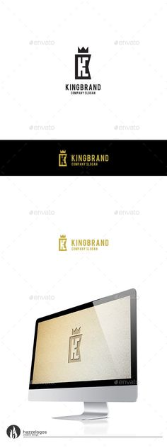 King Brand Letter K - Logo Design Template Vector #logotype Download it here: http://graphicriver.net/item/king-brand-letter-k-logo/9806846?s_rank=1536?ref=nexion