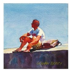 """""""Lost in thought."""" - Original Fine Art for Sale - © Graham Berry"""