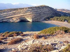 Iraklion-South Crete, Matala beach