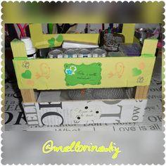 Y aquí está la torre que he formado con la primera y la segunda caja #torre  #tower #caja #box #madera #wooden #tintas #inks #base #hama #perler #bead #papelería #stationery #manualidades #crafts #materiales #stuff #hechoamano #handmade #hechoencasa #homemade #hazlotumismo #doityourself #DIY #bonito #cute  #kawaii
