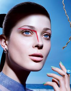 Tips on Color   Larissa Hofmann by Sebastian Mader for Vogue Japan July  2015. Vogue c090555be3