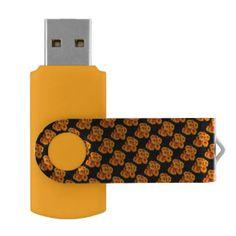 Computer Accessories,Businesses,Business,USB Stick ,Silver,64 GB, Black Swivel USB 3.0 Flash Drive,http://www.zazzle.com/costasonlineshop*
