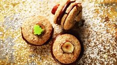 Benešovské dortíčky Bagel, Gluten Free Recipes, Christmas Cookies, Doughnut, Free Food, Muffin, Bread, Breakfast, Xmas Cookies
