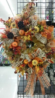 Click fall mesh wreath by A.Hood @ 9526