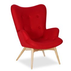 Sillón FREATHER Madera de Roble Blanco y tapizado de Cashmere (Sillas Icono del Diseño) Chair Bench, Best Sofa, Home Staging, Armchair, Cashmere, Wood, Interior, Design, Home Decor