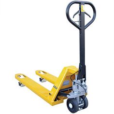 A heavy-duty pallet truck which is available in 2 fork lengths, 1000mm or 1220mm. It is a strong little chap with the ability of lifting loads of up to 2.5 tonnes. Complete with a safety brake system which doubles as parking brake. A great all-rounder for all your pallet lifting problems. https://www.esedirect.co.uk/p-4724-heavy-duty-braked-pallet-trucks-with-25-tonne-capacity.aspx