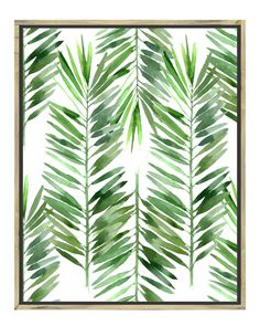 Spotted this Palms I Rustic Wood Framed Giclee on Rue La La. Shop (quickly!).
