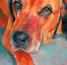 Inspirations from the Easel Huge Dogs, Animal Paintings, Dog Art, Crazy Cats, Pet Portraits, Art Tutorials, Painting & Drawing, Art For Kids, Dog Lovers