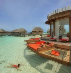 Laze around the waters or dive in for a swim... #ClubMed #Kani  www.clubmed.co.in