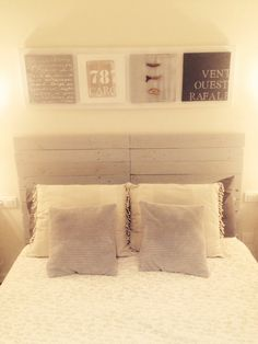 Headboard/ cabecero palets DIY ✪ by lali #lalihome