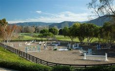 horse jumping arena - Google Search