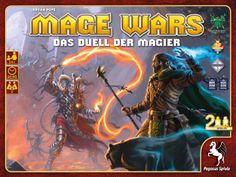 Pegasus Spiele 51860G - Mage Wars (deutsche Ausgabe) Strategiespiel