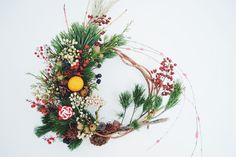 Green Baton //wreath//お正月