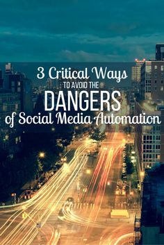 Are you screwing up your social media automation? As bloggers, we need to be everywhere at all times, but doing it right is what is most important.
