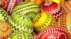 Easter is celebrated with traditional customs, especially in Lusatia.