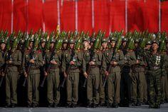 PHOTOS. Corée du Nord : pour les 70 ans du parti unique, une imposante parade militaire