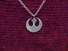 Star Wars Jedi Pendant Necklace by Graphmagics on Etsy, $15.00