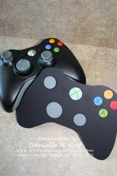 Xbox controller Birthday card. $4.00, via Etsy.