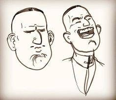 Making faces is like candy to me #comicart #webcomic #indiecomic #digitalart #digitaldraw #digitalcomic #digitalartist #indieartist #laughter #art #cintiq #photoshop