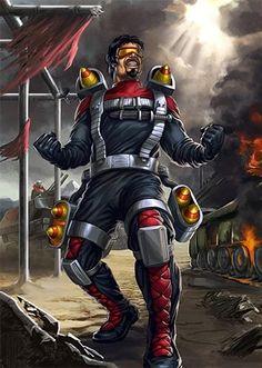 Metal-Head (Destro's Anti-Tank Specialist)