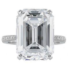 Rare 11.96 Carat GIA D/IF Type IIA Diamond Solitaire Ring $2,400,000