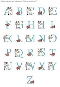 alfabeto del matrimonio