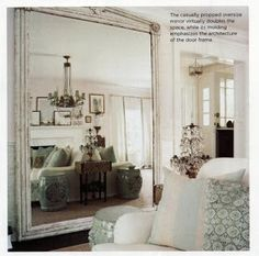 Beauty and the Green: The Magic Of Mirrors In Decor