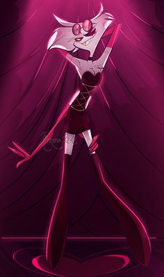 Character Art, Character Design, Hazbin Hotel Angel Dust, Art Ideas For Teens, Alastor Hazbin Hotel, H Hotel, Hotel Trivago, Vivziepop Hazbin Hotel, Slayer Anime