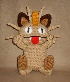 Meowth (Lots of Pokemon) ☺ Free Pattern ☺