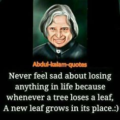 every losses have a new start Apj Quotes, Wisdom Quotes, True Quotes, Motivational Quotes, Morning Inspirational Quotes, Good Morning Quotes, Inspiring Quotes About Life, Kalam Quotes, Saving Quotes