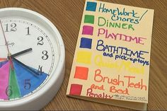 Color coded clock helps one East Texas mother keep kids in a routine (Source: KLTV Staff)