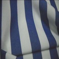 bâche rayé blanc bleu 4 saisons en téflon