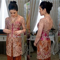 "4,657 Likes, 101 Comments - Vera Anggraini (@verakebaya) on Instagram: ""Fitting ... #kebaya #seragam #throwback #lace"""