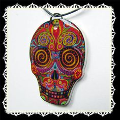 .day of the dead - shrinky dink?