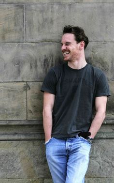 Dat delicious smile! Michael Fassbender