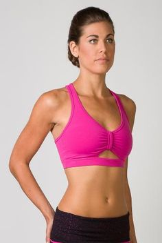 a4fe000d08 Tonic Clothing Prema Sports Bra in Dragon Berry Womens Workout Outfits
