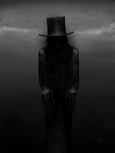 The Babadook. If it's in a word. You can't get rid of.the babadook Rpg Horror, Horror Show, Scary Art, Creepy, Spooky Pictures, The Babadook, Horror Artwork, Psychological Horror, Classic Horror Movies