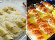 Nejlepší recepty na domácí rohlíky | NejRecept.cz Street Food, Apple Pie, Mashed Potatoes, Cooking Recipes, Ethnic Recipes, Basket, Whipped Potatoes, Smash Potatoes, Chef Recipes
