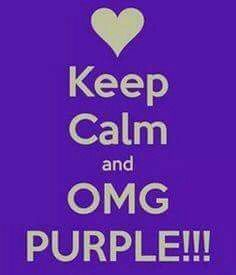KEEP CALM and OMG PURPLE! Another original poster design created with the Keep Calm-o-matic. Buy this design or create your own original Keep Calm design now. Purple Love, All Things Purple, Shades Of Purple, Deep Purple, Purple Stuff, Girly Stuff, Pink, Keep Calm And Love, Just Love
