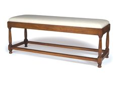 Shop for MacRae Keene Bench, 148-L, and other Benches at Lee Jofa New in New York, NY. Shown in cherry.
