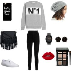 Cute outfit by stuff4m on Polyvore featuring Être Cécile, Balmain, Vans, Erica Lyons, Sole Society, Bobbi Brown Cosmetics and Lime Crime