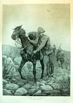 After The Skirmish by R. Noel Jones, War Horses, War Novels, Uk History, British Colonial, British Army, Military History, Victorian Era, Les Oeuvres