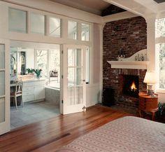 Artichitect Bernie   Baker: Creating The Not So Big House. Master bedroom/bath